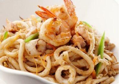Yakiudon-shrimp